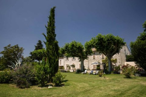 Garden guests house Provence France
